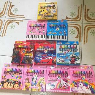 Crayon for children!! Many different designs goodie bag