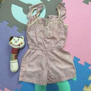 Crib Couture Pink Romper (18M)