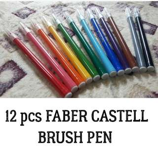 Faber castell brush pen