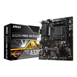MSI A320M PRO-VH PLUS (AMD® A320 Chipset)