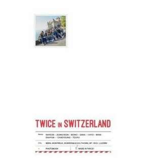 TWICE SWITZERLAND PHOTOBOOK