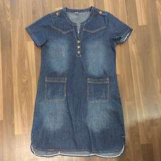 Preloved Jean dress