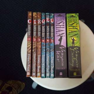 The saga of Darren Shan series- Darren Sha