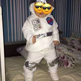 Baby costume Astronaut for 1year old