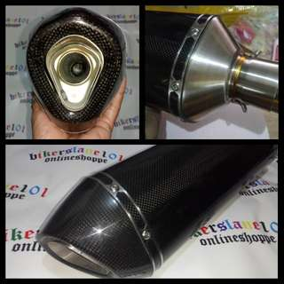 Akrapovic Full REAL carbon Onhand