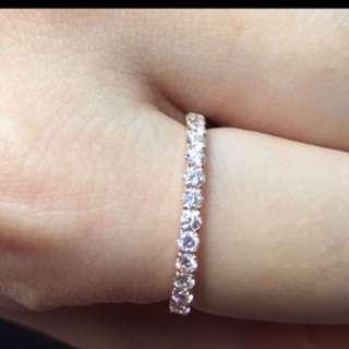 🈹️18k玫瑰金鑽石戒指共35份 原價$6800 蝕讓價$2880 非常閃