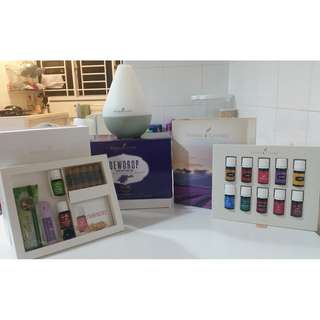 DEWDROP DIFFUSER PREMIUM STARTER KIT FROM YOUNG LIVING