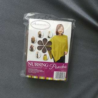 Nursing poncho autumnz