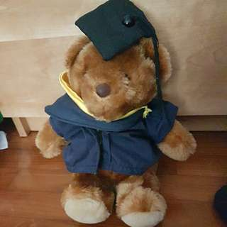 Graduation Bear from NUS