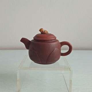 Old Zisha Teapot height 6cm diameter 4.5cm perfect