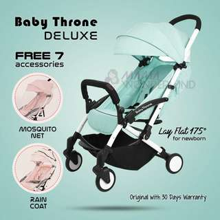 MINT - Baby Throne DELUXE Version Light Weight Stroller