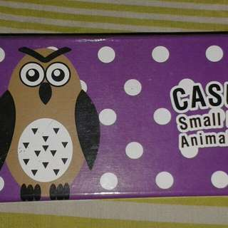 Kotak Pensil Magnet Owl