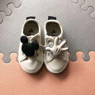 Zara Baby Mickey Plimsolls