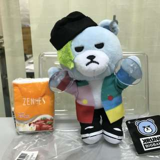 Krunk x bigbang (GD) 公仔 (附吸盤)