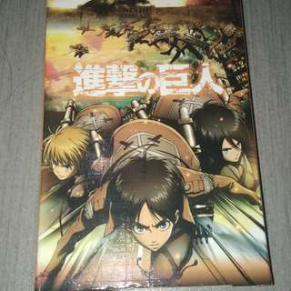 Attack on titan collectible set
