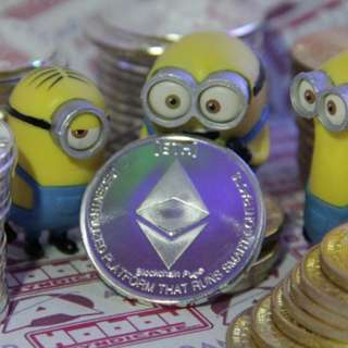 Ethereum Metal Coins