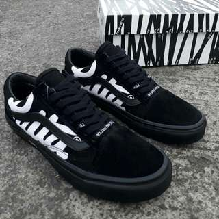 vans oldskool patta black/white