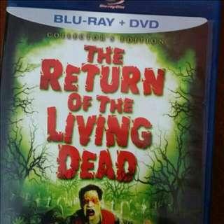 Return Of The Living Dead Bluray