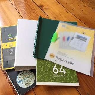 Folder notebook set