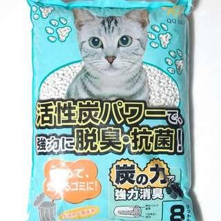 QQ recycled cat litter