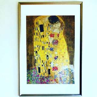 The Kiss by Gustav Klimt (1000-pc puzzle)