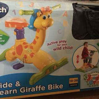 ride and learn giraffe