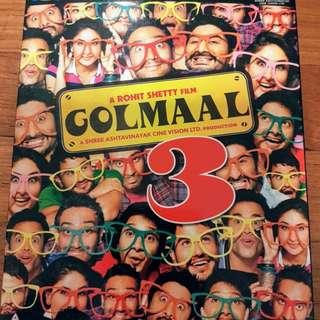 Golmaal 3 + Gangs of Wasseypur 1&2