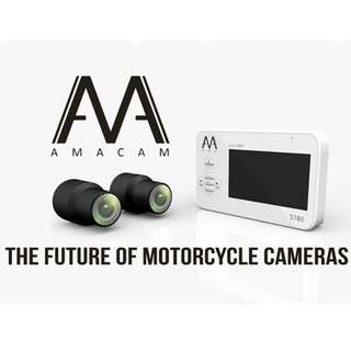 Installation Inclusive - FULL HD S780 Dual channel motorcycle camera