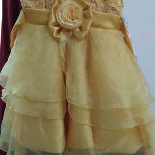 Gold Elegant Gown