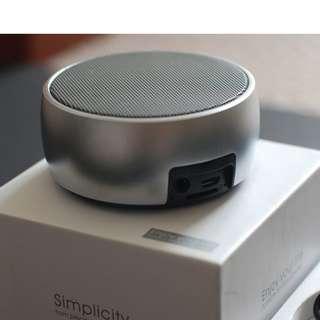 小鋼炮BS-01迷你重低音金屬機身藍芽喇叭音箱 Bluetooth Speaker (全新現貨)