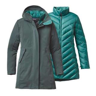 Patagonia Tres 3-in-1 Parka Forge Green XS