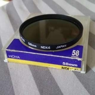 Hoya 58mm NDX4 Japan