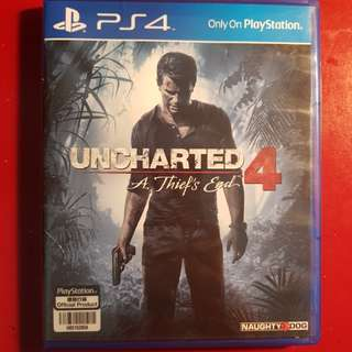 Kaset ps4 UNCHARTED 4