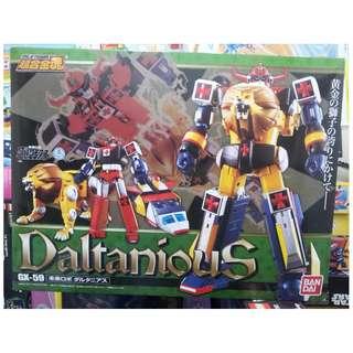GX-59 超合金魂 未来ロボ ダルタニアス Soul of Chogokin Mirai Robo Daltanious 未來合體 金毛獅王