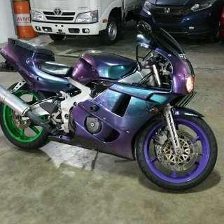 CBR400rr makeover @ 7 Angelz Singapore