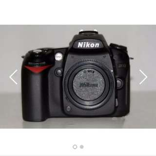 NIKON D90 DSLR BODY ONLY (EXCELLENT CONDITION)