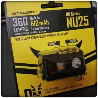 Nitecore NU25 Headlamp