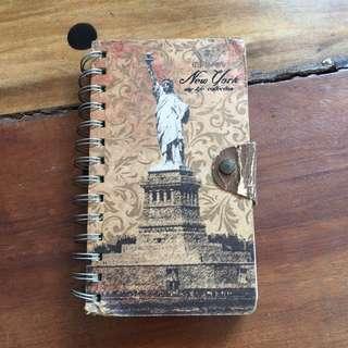 New York blank book