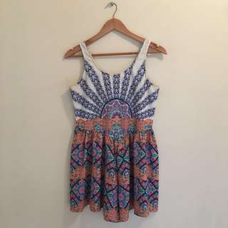 Fun breezy playsuit