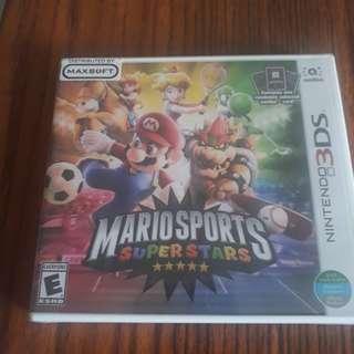 3ds/2ds Mario Sport Superstar
