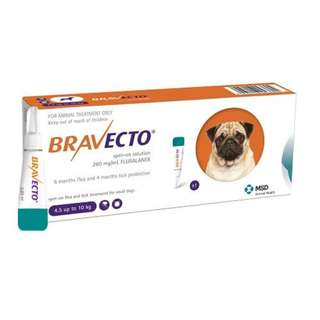 BNIB IN STOCK BRAVECTO SPOT-ON SOLUTION FOR DOGS