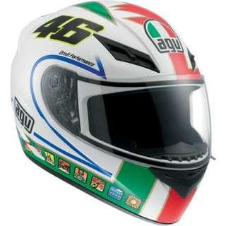 (BNIB) AGV K3 ROSSI 5 46 ICON Full Face Helmet