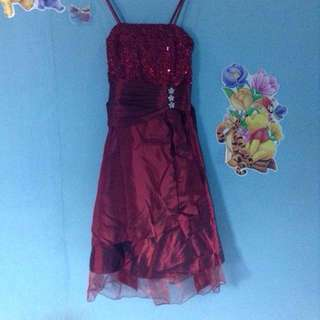 MURAH ‼️Dress Pesta Include Bolero