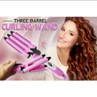 3 Barrel Mermaid curler