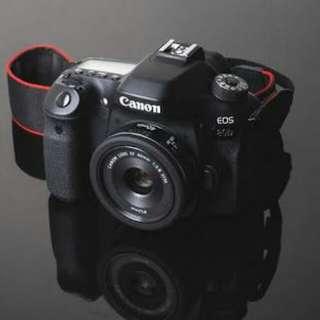 Kredit Canon EOS 80D Wi-Fi DSLR Camera with 18-55mm - Cicilan tanpa CC