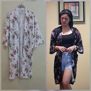 Kimono With Turban Terno
