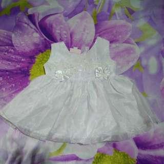 White Baptismal Dress