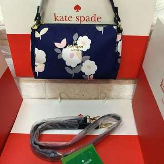 Kate Spade 2in1(shoulder/sling bag)rep 930 Php addtl 50 if with paper bag Size 12x7x4 inches