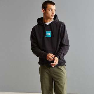 The North Face Embroidered Box Logo Hooded Sweatshirt