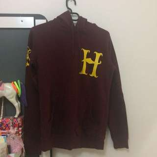 Hogwarts Harry Potter Maroon Hoodie Quidditch Jersey